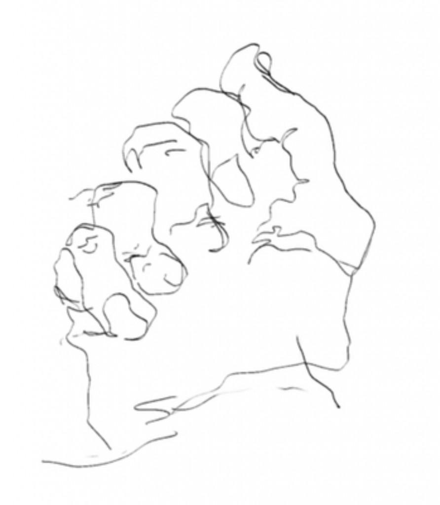 Blind Contour Line Drawing Definition Blind Contour Drawing Means